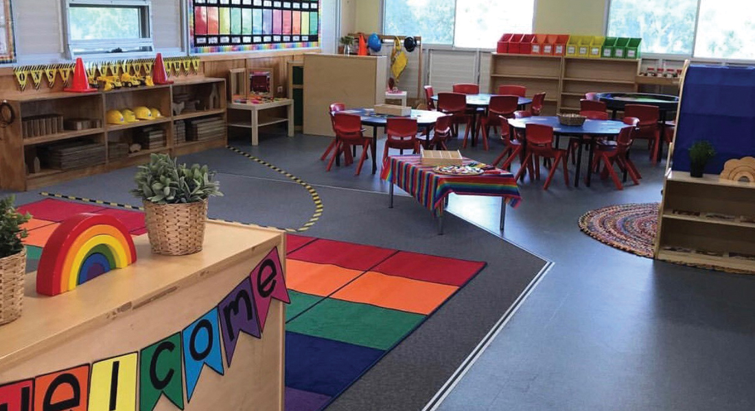 An engaging classroom by @learningthroughplay