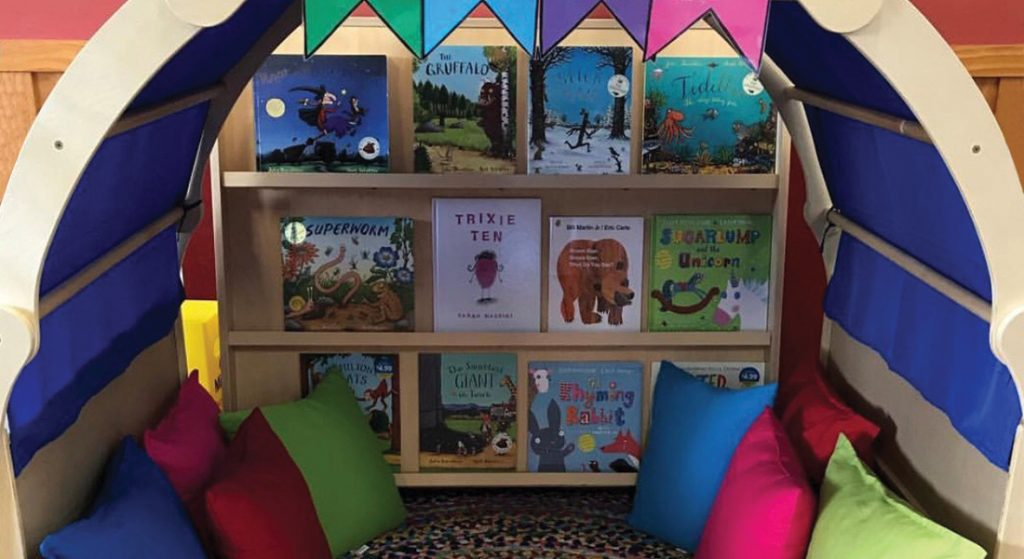 The perfect reading cave for children of any age