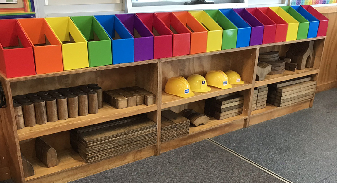Book boxes are a great storage solution for the classroom