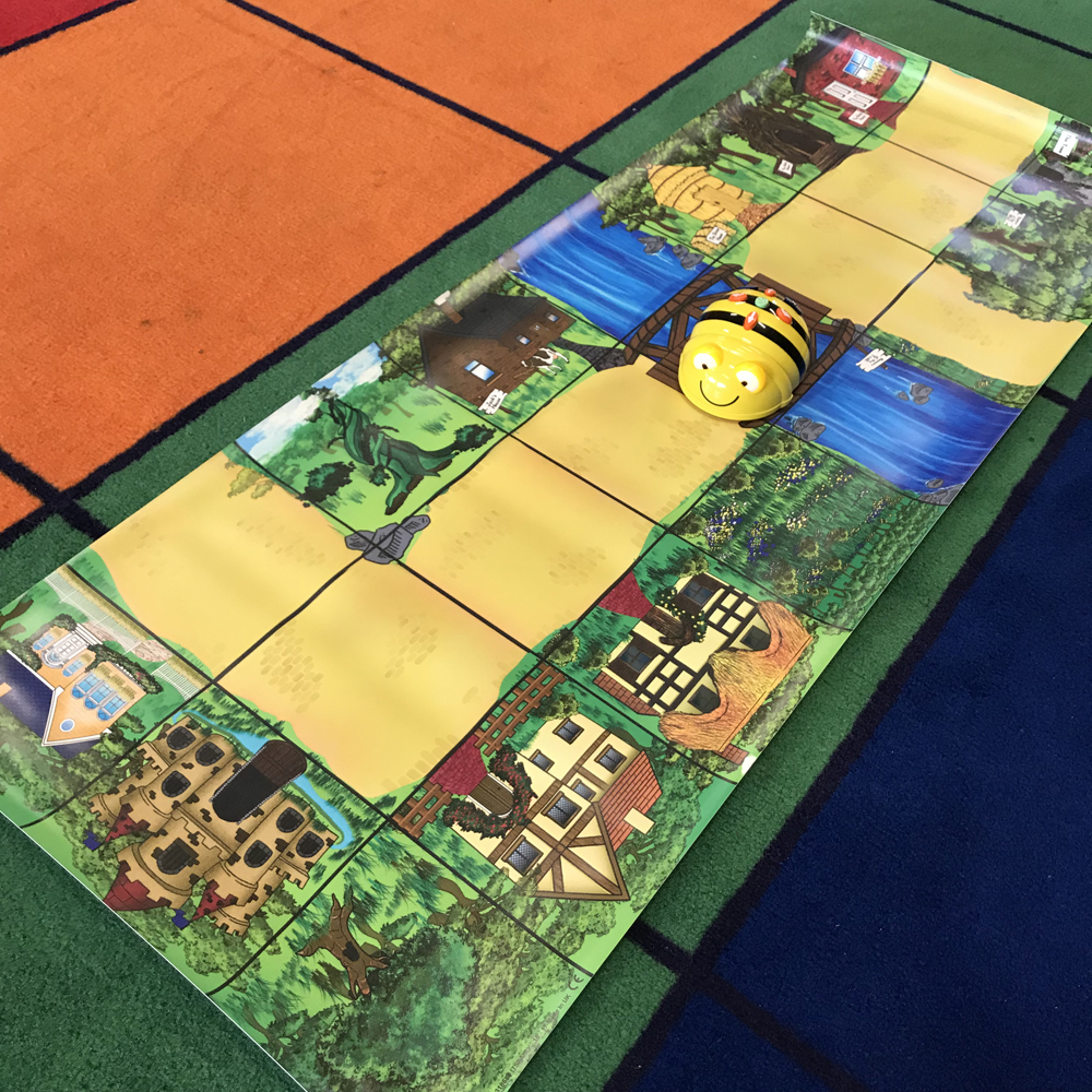Numeracy Beebots Track