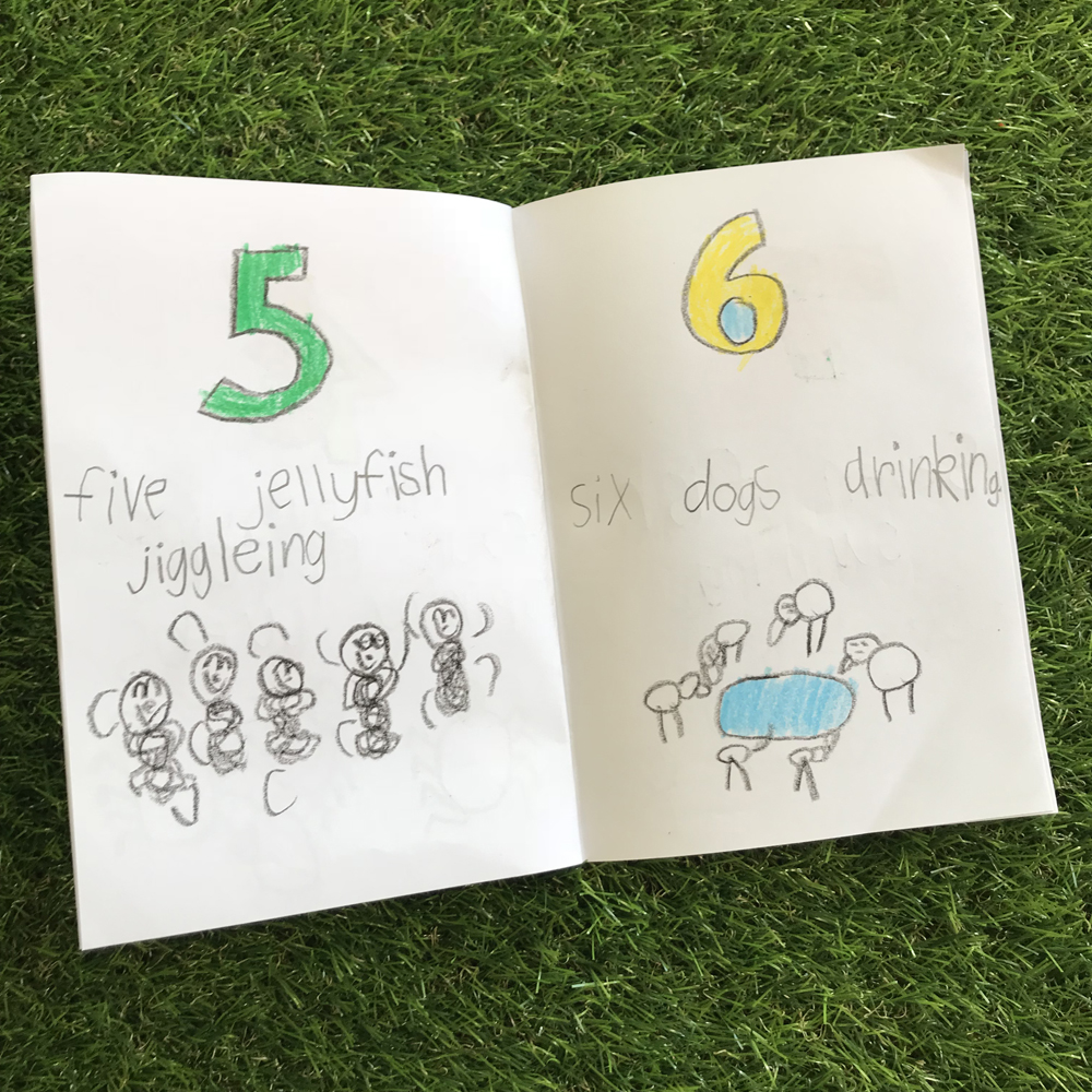 Numeracy Number Books Inside Spread