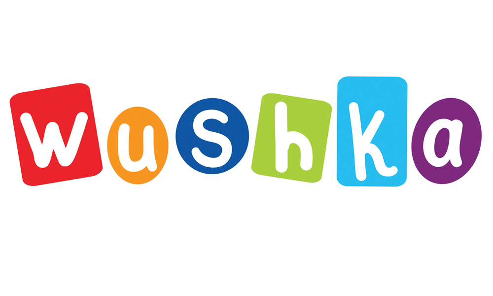 Wushka logo on white background