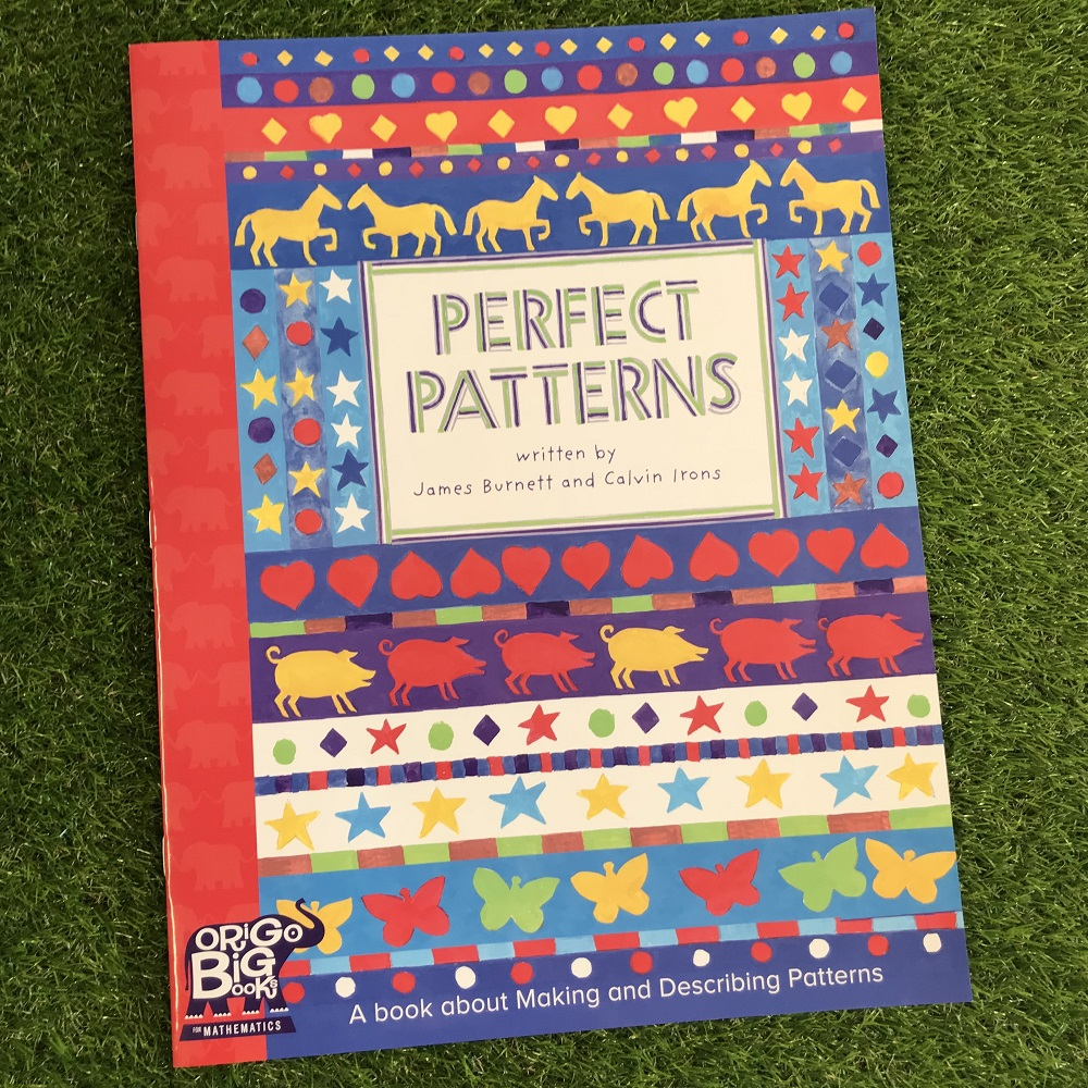 Perfect Patterns book on grass