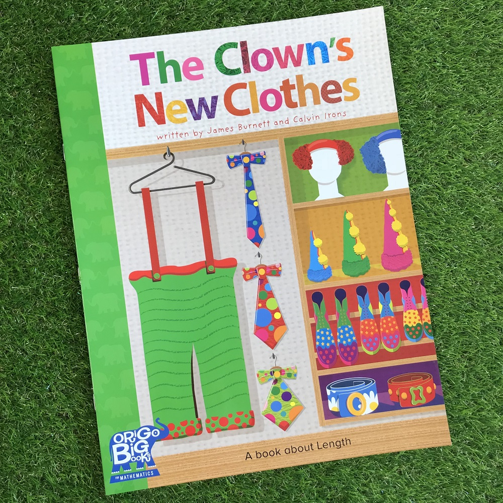 The Clowns New Clothes book on grass