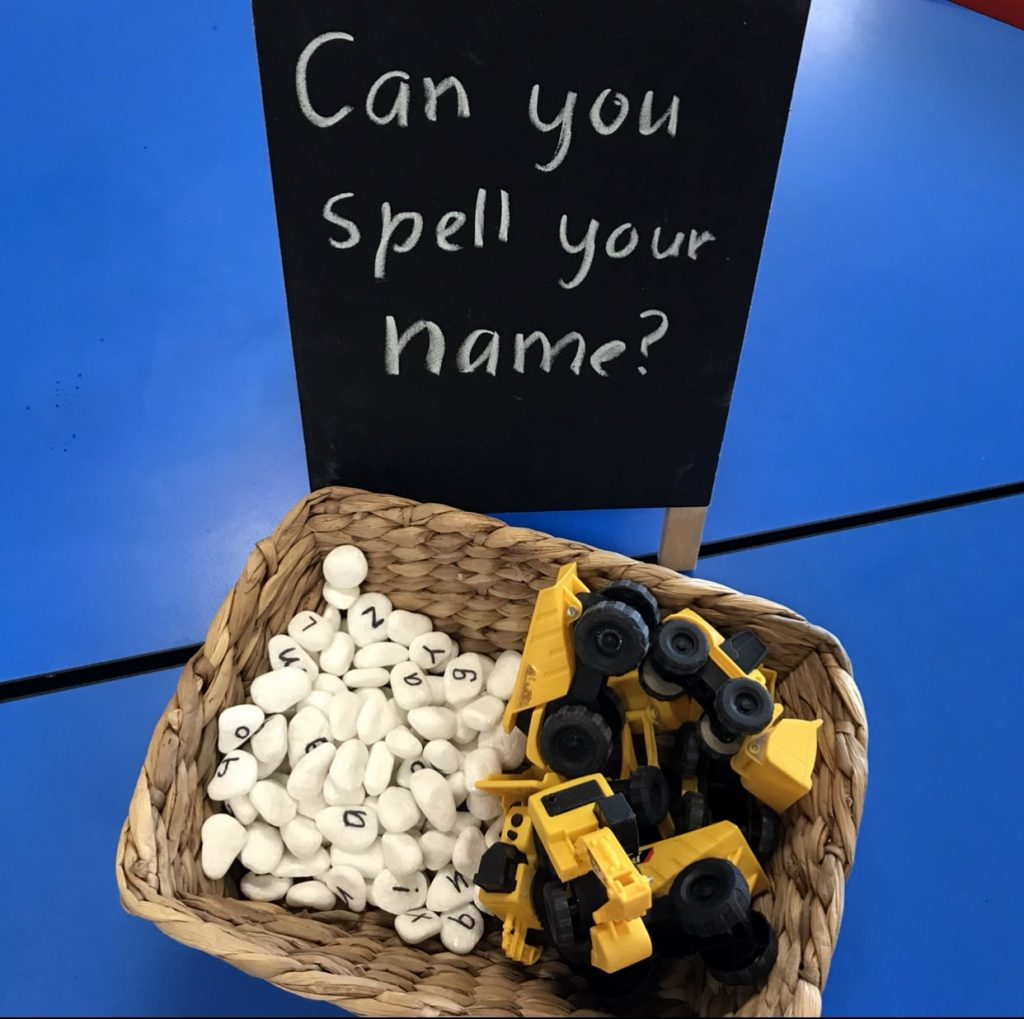 Can you spell your name activity