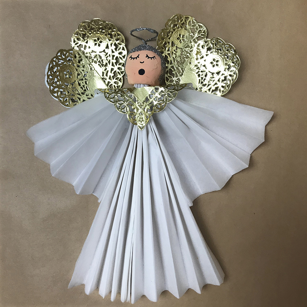 Christmas Angel Craft Project.