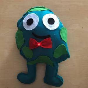Felted Character Art Example 1
