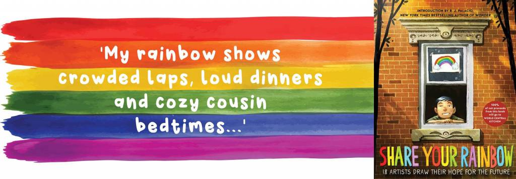 Banner Share Your Rainbow Quote Book Blog