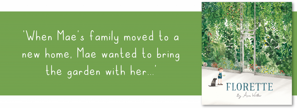 Florette book and quote banner