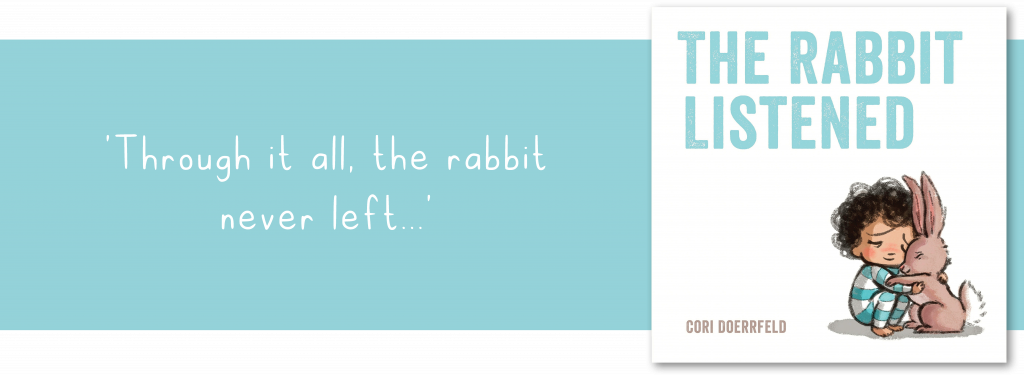 The Rabbit Listened book and quote banner